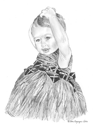 Moira-ballet pose