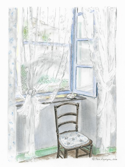 French Country Window